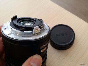 Lens Nikon AF DX Fisheye NIKKOR 10.5mm F2.8 G ED hàng VIC like new 99%