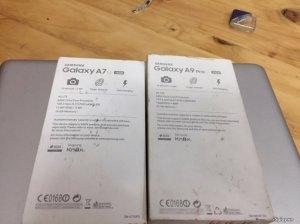 Cần bán SS A7 2016 và A9 PRO giá rẻ