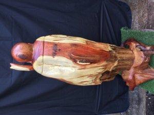 Tượng gỗ lũa