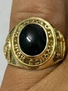 Nhẫn mỹ cổ VÀNG 10K - 1958 - có THẦN ĐÈN , có LÚA may mắn PHỤC VỤ SƯU TẦM