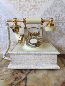 Telephone cổ điển mạ vàng 24k thập niên 80 hàng xách tay