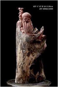 Giao lưu thọ tinh gỗ ôm đá