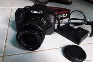 Canon 600D, lens 18-55is II, new 98% hàng chính hãng, 4k shot