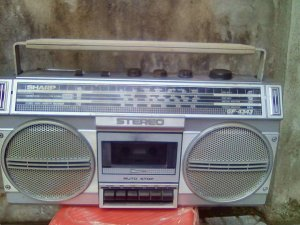 Radio Cassette Sharp GF 4343