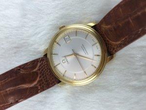 Omega Prestige DeVille Chronometer Automatic solid 18k gold Cal1109