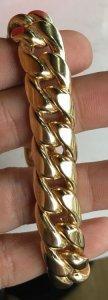 Lắc tay vàng ngoại 18k ( hàng bọng ) - Dài: 19 cm - Nặng: 36,6 gam
