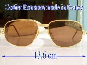 Kính Cartier Romance Vendome Lune Louis 18k Gold Plated France