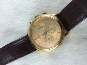 Omega Prestige DeVille Chronograph Mechanic Cal861 solid 18k gold