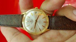 Đồng hồ universal vỏ vàng khối 18k xưa chính hãng thụy sỹ