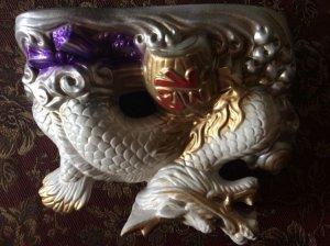 Con Rồng bằng Gốm sứ Nhật Bản