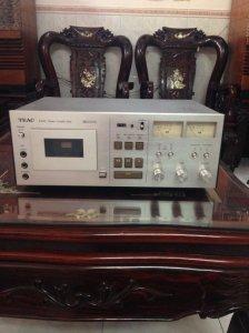 Bán tape deck teac A-630 rất mới , hát rất hay