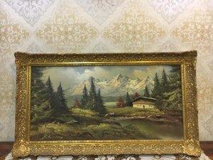 Tranh sơn dầu châu âu Phong cảnh
