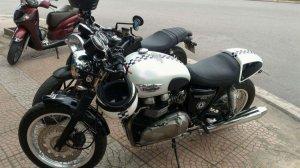 Bán Triumph Thruxton 900