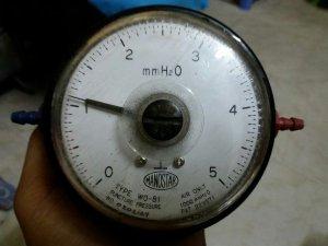 Đồng hồ Manostar đo (mm H2O)