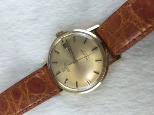 Omega Seamaster Deville Automatic solid 18k gold Case & Dial Cal565
