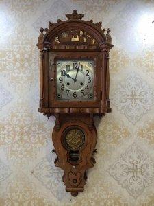Đồng hồ treo tường Junghan sx Đức 1910