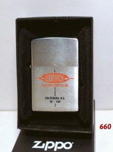 Z.660 -chữ xéo 1966 -WOMACK