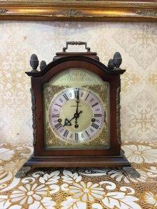 Đồng hồ hộp gỗ Haminton 8 gong 3 bài nhạc sx Đức 1950