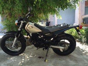 Yamaha TW200 Chiến binh đường rừng kiêm đường phố