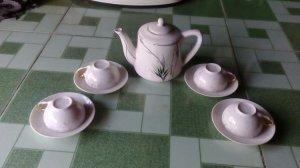 Bình tách trà xưa