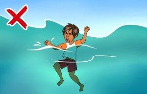 Những lưu ý khiến bạn sống sót khi gặp rủi ro ở biển