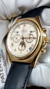 Zenith Chronographe Cal 410 Moonphase Triple Date Swiss Made limited