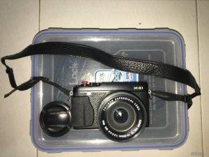 Fujifilm X-E1 + lens 16-50