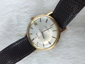Omega Seamaster Deville Automatic solid 18k/750 gold Cal562 fullbox