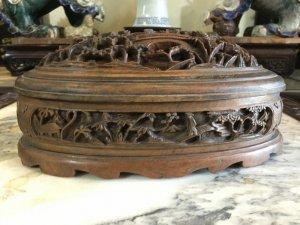 Hộp gỗ huế cổ bằng gỗ sưa và ngọc am