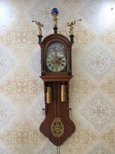 Đồng hồ treo tường 2 tạ khúc sx Hà Lan 1960