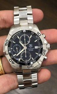 Breitling Chronometre GMT 300m/1000FT Automatic zin Thuỵ Sỹ toàn bộ 100% Size 42mm