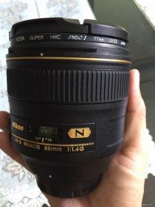 Bán Lens Nikon 85mm 1.4G Nano