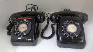 điện thoại quay số xưa.