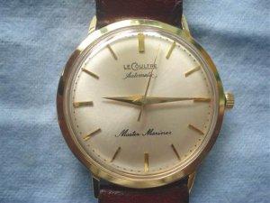 Lecoultre automatic Master Mariner 14k gold thập niên 60
