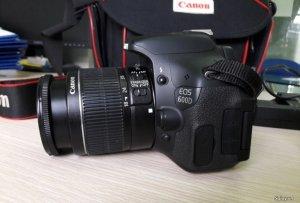Canon 600D + Lens 18-55is II + Lens 50f1.8 II. Chính hãng New 99%