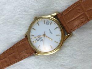 Zenith Automatic 670 Chronometre solid 18k gold Limited 063/500 dial's White Enamel