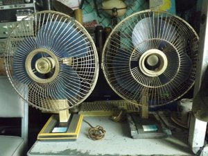 2 Em Sanyo xưa để các bác giải nhiệt