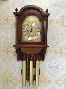 Đồng hồ treo tường Hermle 3 bài nhạc sx Đức 1960
