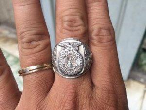 Nhẫn bạc đại bàng