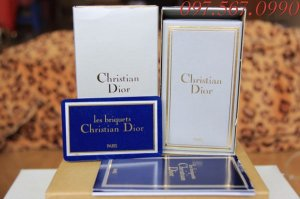 Christian Dior Monogram CD Bạc