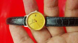Đồng hồ tissot nữ vỏ vàng khối 18k chính hãng