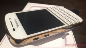 BlackBerry Q10 Special Gold Edition Hands On 99% đẹp như mới giá tốt