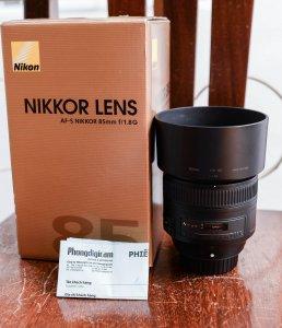 [Bán] Nikon AF-S 85f1.8G