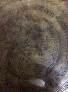 Mâm đồng xưa ( đường kính 52 cm,nặng hơn 2000g) giao lưu