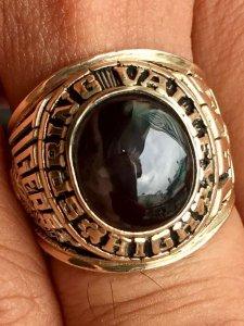 Nhẫn JOSTEN'S 1975 - vàng 10K - KHẮC HOẠ DŨNG MÃNH phục vụ sưu tầm