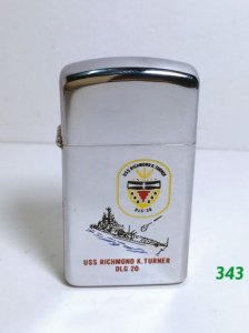 Z 343 __slim hp chrome 1970 _USs RICHMOND K.turner DLG 20