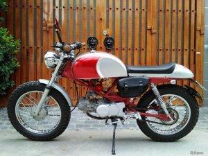 Honda Cafe Racer 100cc cực ngầu