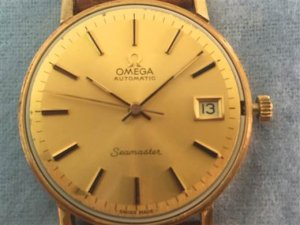 OMEGA Seamaster automatic Call 1002- 18k Gold