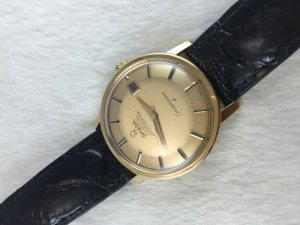 Omega Constellation 250 Chronometer Automatic Pie Pan solid 18k gold Case & Dial Cal564