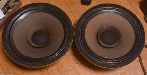 "Goodmans Axiom 301 12"" Speaker Pair Vintage * Rare ! VG Condition Tannoy"